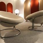 Paire de fauteuils de Luigi Colani