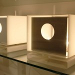 Paire de Lampes en Perspex, Edition Moinier