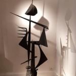 Sculpture en fer de Michel Pinel