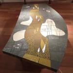 Table Basse en Pâte de Verre de Berthold Muller