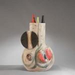 Sculpture en Céramique de Ivo De Santis, Atelier Gli Etruschi