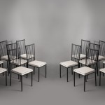 Ensemble de 10 chaises de Colette Gueden