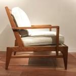 Paire de fauteuils de René Gabriel