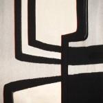 Tapisserie « Graphisme noir et blanc » de Danièle Raimbault-Saerens
