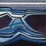 Tapisserie « Lumiere oblique » de Danièle Raimbault-Saerens