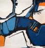 Tapisserie « Nouveau monde » de Danièle Raimbault-Saerens