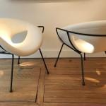 Paire de fauteuils de Roger Landault