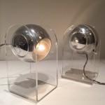 Paire de lampes / appliques modèle 540 p de Gino Sarfatti