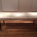 Rare table basse en céramique d'André Borderie