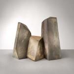 Triptyque en céramique de Mireille Moser