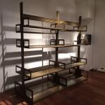 Module double d'étagères Strafor couleur kaki bronze