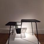Porte-revues en métal perforé de Mathieu Matégot