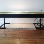 Table basse éclairante de Robert Mathieu