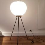 Lampe de parquet tripode de Stilnovo