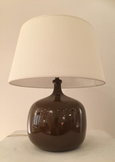 lampe en c ramique de ruelland. Black Bedroom Furniture Sets. Home Design Ideas